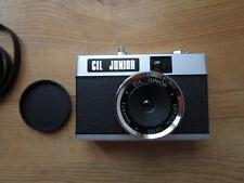 Ancien appareil photo argentique Cil Junior optique Lens avec sa boîte d'origine