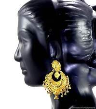 Earrings Bali set Gold Plated Indian Fashion Jewelry Beautiful Classical Design
