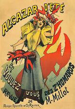 Arte Alcázar d 'eté zhomards langosta de alimentos Cocina cartel impresión