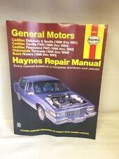 (B4) Haynes Repair Manual 38031 General Motors Cadillac, Oldsmobile, Buick 1986-