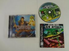 Army Men Air Attack Sony PlayStation 1 PS1 **TESTED AND WORKING** COMPLETE