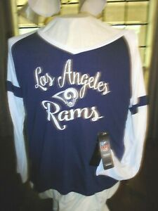 LOS ANGELES RAMS  GIRL XL SIZE 16 -JERSEY