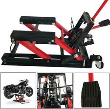 New Listing1500lbs Motorcycle Hydraulic Pump Jack Atv Dirt Bike Handle Stands Lifting Tool