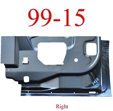 99 15 Right Rear Door Inner Bottom, Super Duty Extended Cab Truck
