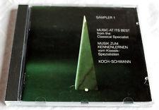 CD Sampler 1 - KOCH-SCHWANN - Musik vom Klassikspezialisten