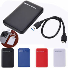 "USB3.0 Hard Drive External Enclosure 2.5"" SATA HDD Mobile Disk Box Case Cover US"