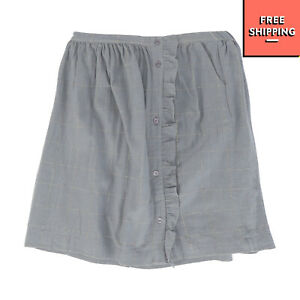 POLDER GIRL Flare Skirt Size 10Y Fully Lined Gathered Lurex Trim