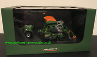 UNIVERSAL HOBBIES 5384 1:32 SCALE AMAZONE CENTAYA 3000 SEED DRILL AND FRONT PACK