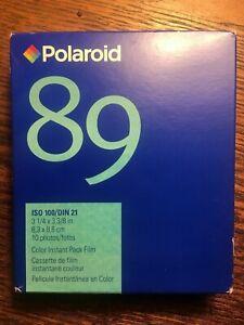Polaroid 89 Type 80 Pack Film Square Expired 11/2007