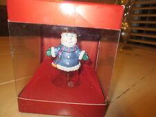 Lenox Gorham Winter Follies Snowman Bell Ornament (New)