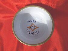 Ciotola in ceramica di Faenza commemorativa coppa lotta greco romana AUDAX CISA