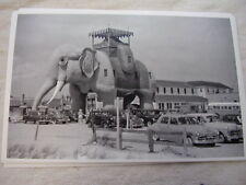 LUCY THE ELEPHANT ATLANTIC CITY  1950'S  11X17  PHOTO PICTURE