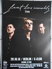 FRONT LINE ASSEMBLY 2014 BERLIN  orig.Concert-Konzert-Tour-Poster-Plakat DIN A1
