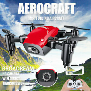 Mini Drone HD Camera WiFi Fpv Helicopter Foldable RC Quadcopter Selfie Drone Toy