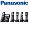 Panasonic KX-TG785SK DECT 6.0 5 Handset Cordless Phone System