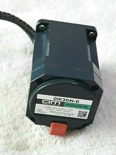 Oriental Motor / OIK3GN-D / Induction Moter / USED