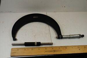 "Starrett No.436  5"" - 6"" Micrometer with 6"" Standard"
