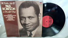 Paul Robeson LP The Golden Age of Paul Robeson EMI MFP 5829 UK Pressing NM