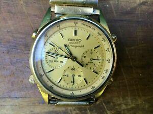 Vintage Seiko Men's Wristwatch Chronograph