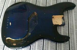 90's P Bass Style Body in Blue Burst