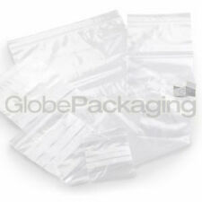 "100 x GRIP SEAL RESEALABLE POLY BAGS 9"" x 12.75"" GLA4"