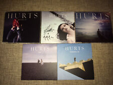 HURTS - 5xCD SIGNED / AUTOGRAPHED SET - incl. STAY + MIRACLE + SUNDAY with PROMO