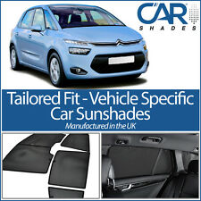 Citroen Picasso 5dr 14on UV CAR SHADE WINDOW SUN BLINDS PRIVACY GLASS TINT BLACK