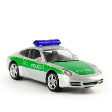 1/64 Norev Porsche 911 Police Car Green Diecast Vehicles Car Model Toys Gifts