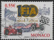 a199) Monaco. 2050. Used.  SG 2699 e0.55. Centenary of The FiA