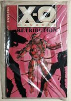 X-O MANOWAR Retribution (w/ database) Valiant Comics TPB still sealed FINE
