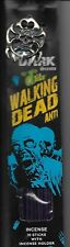 "AFTER DARK INCENSE STICKS ""WALKING DEAD ANTI""SCENT 30 STICKS PACK w/Metal BURNER"