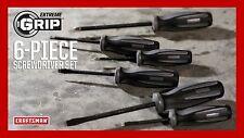 Craftsman Extreme Grip 6 Piece Diamond Tipped Screwdrivers Set **