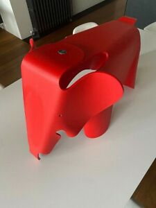 Eames Elephant Vitra Poppy Red Excellent Condition