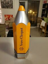 Veuve Clicquot metal PENCIL Reims Champagne Special Package Case Gift Box