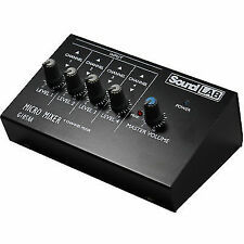 Soundlab G105aa Microphone Mixer 4 Channels Ssc1800