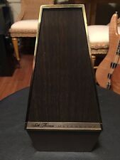 Vintage Seth Thomas Metronome plastic case Conductor De Maelzel E500-000 Works