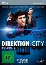 Direktion City Vol. 2 * DVD weitere 11 Folgen der beliebten Krimiserie Pidax Neu