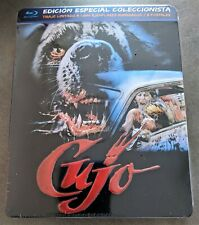 Stephen King CUJO Blu-Ray Spain Exclusive Limited Ed. METALPAK Embossed Numbered