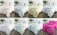 Tie Dye Duvet Cover Super King Size Reversible Bedding Set Indian Doona Cover