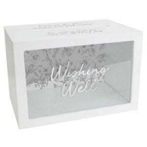 Wedding Wishing Well Card Box For Money Great Wedding Gift By Splosh