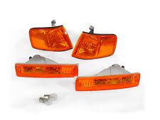 DEPO JDM Style Amber Corner + Bumper Signal Lights For 1990-1991 Honda CRX CR-X