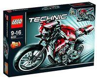LEGO® Technic Technik 8051 Motorrad NEU 2te Wahl _Street Bike NEW Box 2nd choice