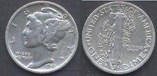 USA  Mercury Dime AG  1941 S