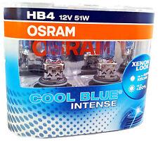 2x OSRAM HB4 P22d Cool Blue INTENSE Cool Blue 4200 Kelvin 9006CBI-HCB