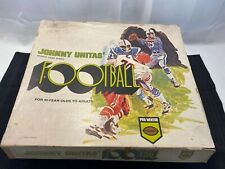 Vintage Johnny Unitas' 1969 Football Sports Board Game in original box!