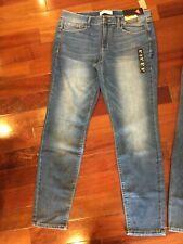 New MUDD Junior's Womens High Rise Legging Blue Denim Jeans Multiple Sizes NWT