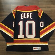 CCM Florida Panthers Pavel Bure NHL Hockey Jersey Navy Blue Alternate Third XL