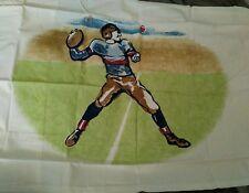 New Pottery Barn Kids FOOTBALL Pillowcase sports vintage logo NFL