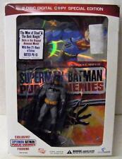 SUPERMAN BATMAN PUBLIC ENEMIES BLU RAY DVD BEST BUY w/ BATMAN FIGURE DC SEALED
