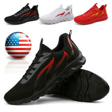 Men's Outdoor Sneakers Breathable Casual Running Athletic Shoes Jogging Workout